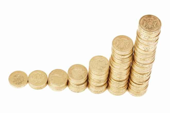gold round coins